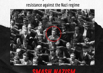 #65 Smashing Nazism, also today
