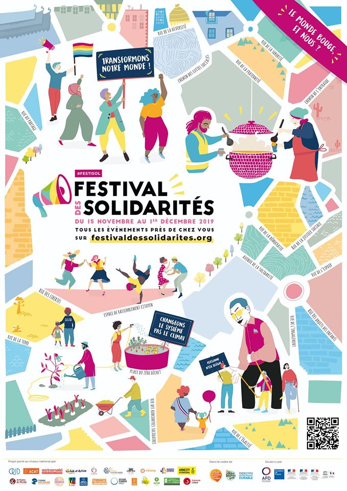 Poster of Festival des Solidarites, 2019