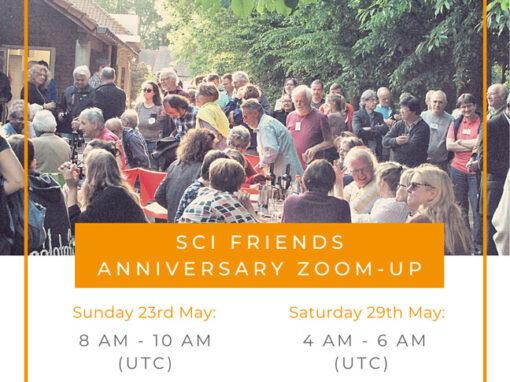 #75 SCI Friends Anniversary Zoom Up!