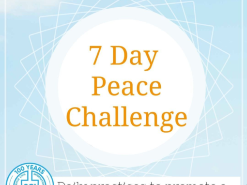 #72 7 Days Peace Challenge