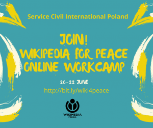 Wikipedia for Peace - A Centenary of Peace Activism