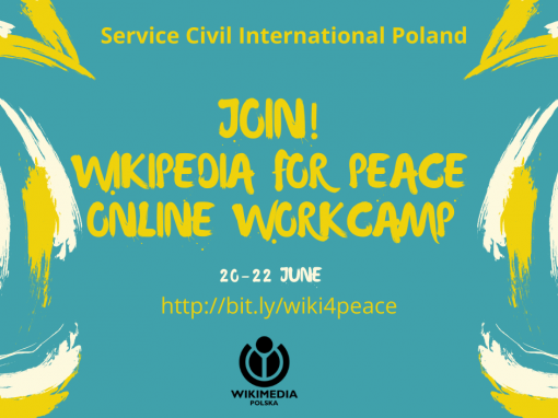 #44 Wikipedia for Peace – A Centenary of Peace Activism