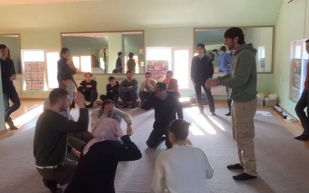 #77 Workshop on 3 levels of peace
