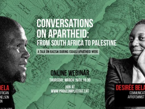 #39 Conversations about Apartheid: from South Africa to Palestine