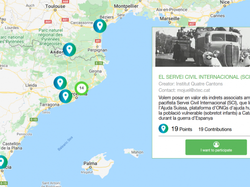 #47 Interactive map: SCI Catalunya and the Spanish Civil War