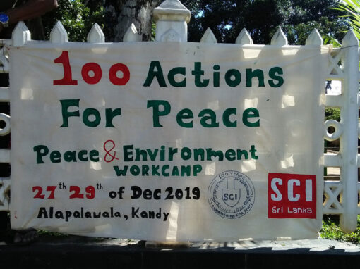 #81 Peace and Environment Workcamp