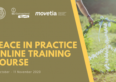 #24 Peace in Practice Training Course