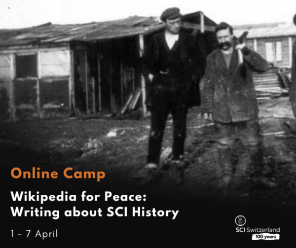 #32 Wikipedia for Peace: Writing about SCI History