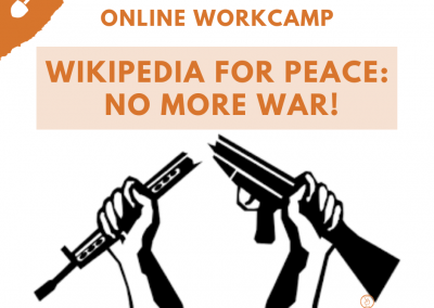 #43 Wikipedia for Peace: No More War!