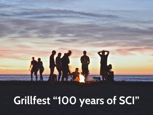 "#52 Grillfest ""100 years of SCI"""