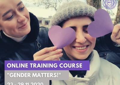 #56 Gender Matters! Online Training
